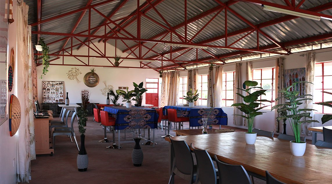 Interior of building in WE Villages partner community