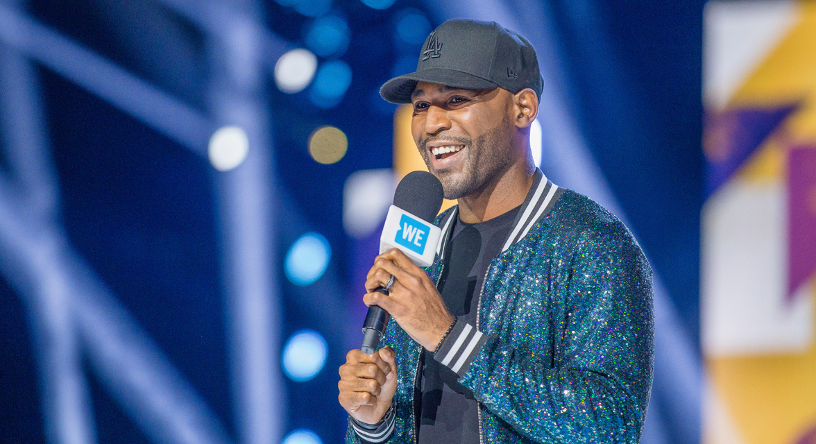 Karamo Brown at WE Day