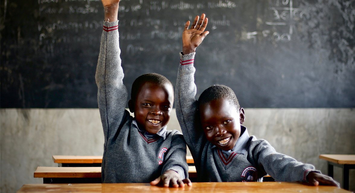 School boys, Kenya