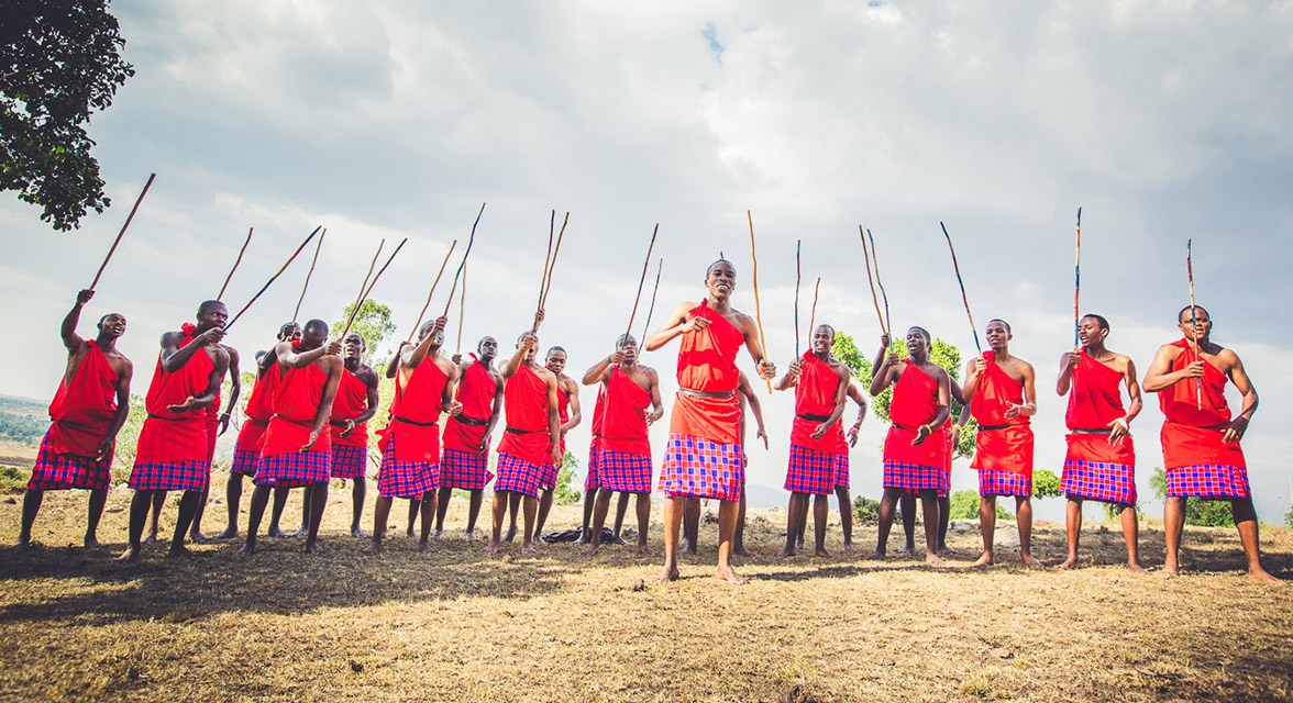 Kenya Maasai Warriors