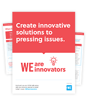 WE are Innovators campaign materials