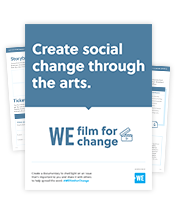 WE Film For Change Download Resources