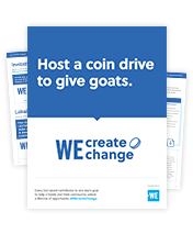 WE Create Change Campaign Resource