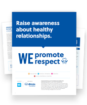 WE Promote Respect Campaign Resources