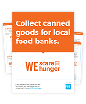 WE Scare Hunger Campaign Resources