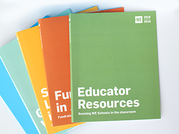 WE Schools resources