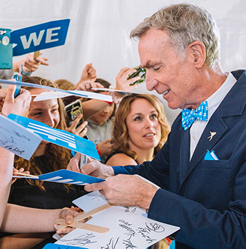 Bill Nye is still the Science Guy