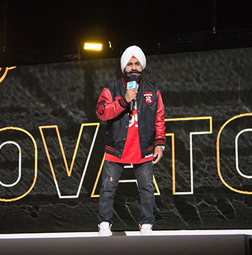 Raptors Superfan Nav Bhatia.