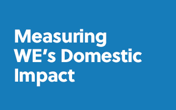 Measuring WE's Domestic Impact