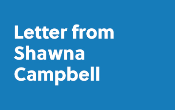 Letter from Shawna Campbell