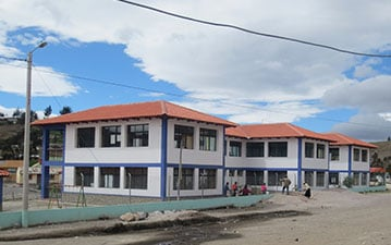 New buildings in a WE Villages partner community
