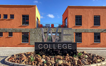 Newly built WE College in Kenya