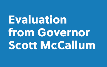 Evaluation from Governor Scott McCallum
