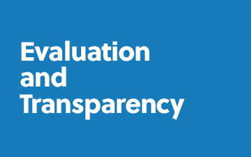Evaluation and transparency