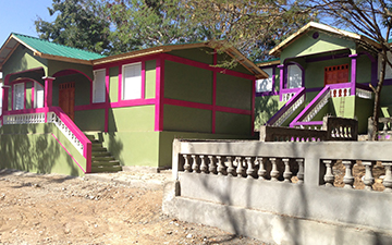 An orphanage built by WE in Haiti.