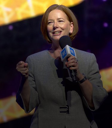 Julia Gillard at WE Day