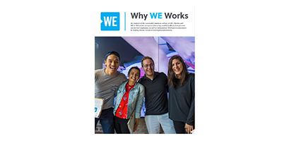 Why WE Works