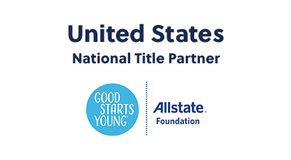 United States National Title Partner: Good Starts Young Allstate Foundation