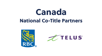 Canada National Co-Title Partners: RBC and Telus