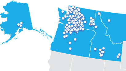 pacific northwest region image