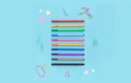 ME to WE Back to School Fine Tip Marker Set