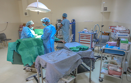 Operating room Baraka Hospital