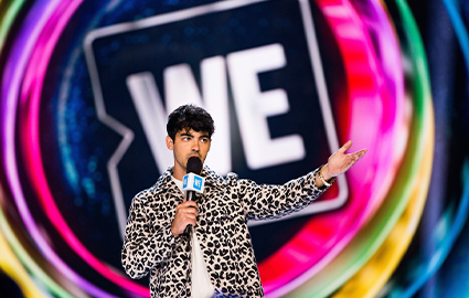 Joe Jonas at WE Day