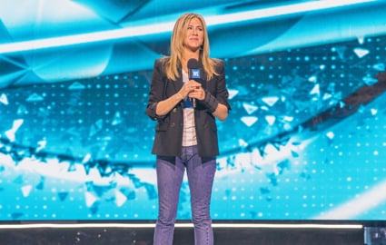 Jennifer Aniston at WE Day