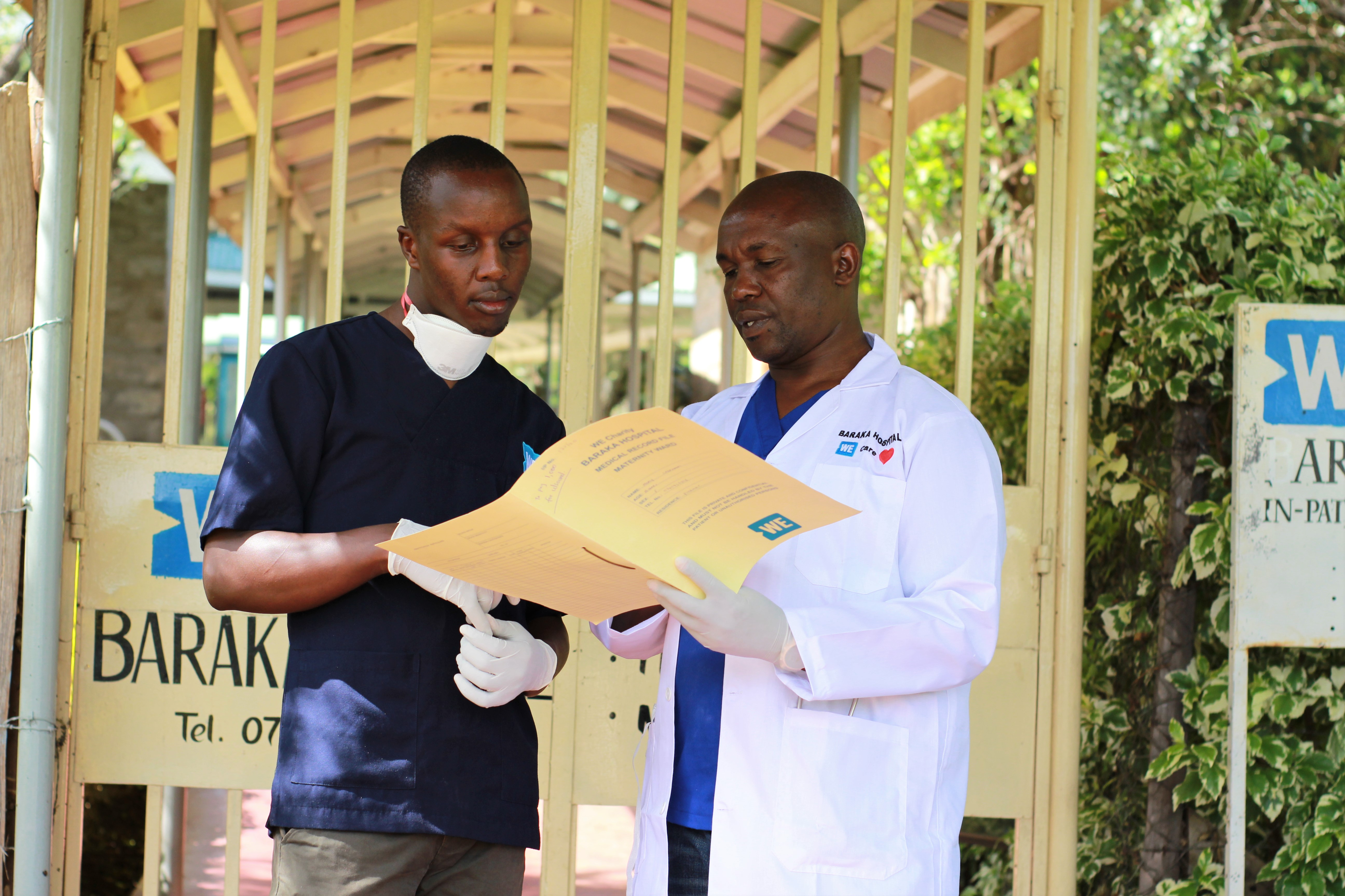 Joseph Gachira, WE Charity's Associate Director for Health, is helping to lead the organization's strategy against the deadly virus.