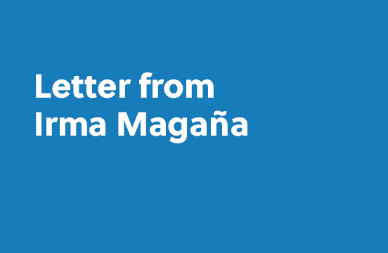 Letter from Irma Magaña