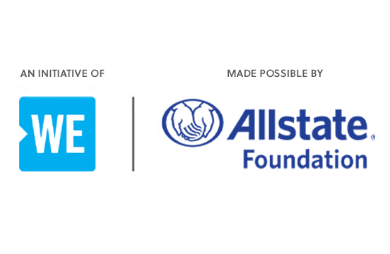 An initiative of WE | Made possible by The Allstate Foundation
