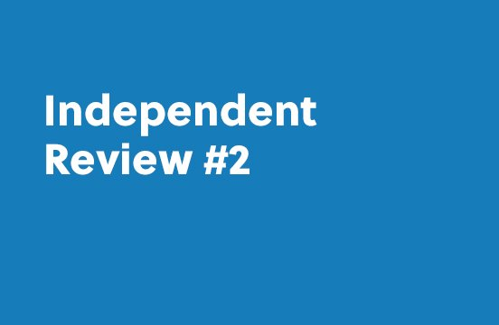 Independent Review #2