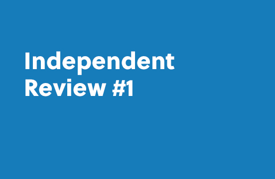 Independent Review #1