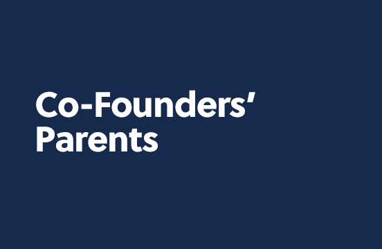 Co-Founders' Parents
