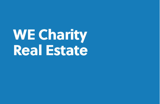 WE Charity real estate