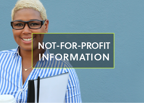 Not-for-profit information