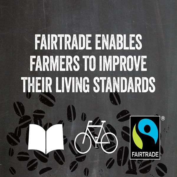 Fairtrade enables farmers to improve their living standards