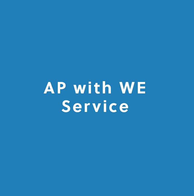 AP with WE Service
