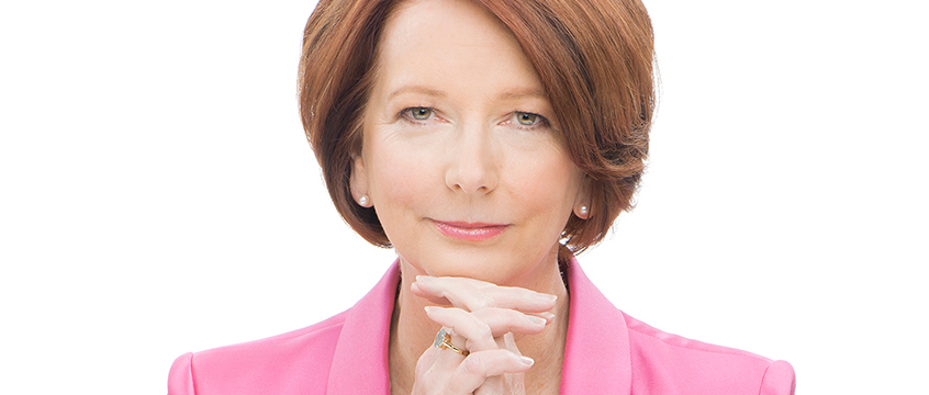 Portrait of Julia Gillard