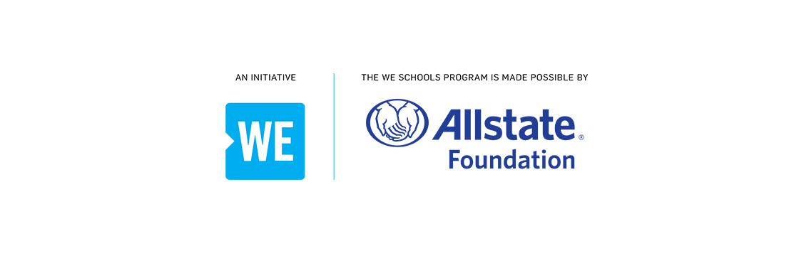 An initiative of WE made possible by Allstate Foundation and RBC